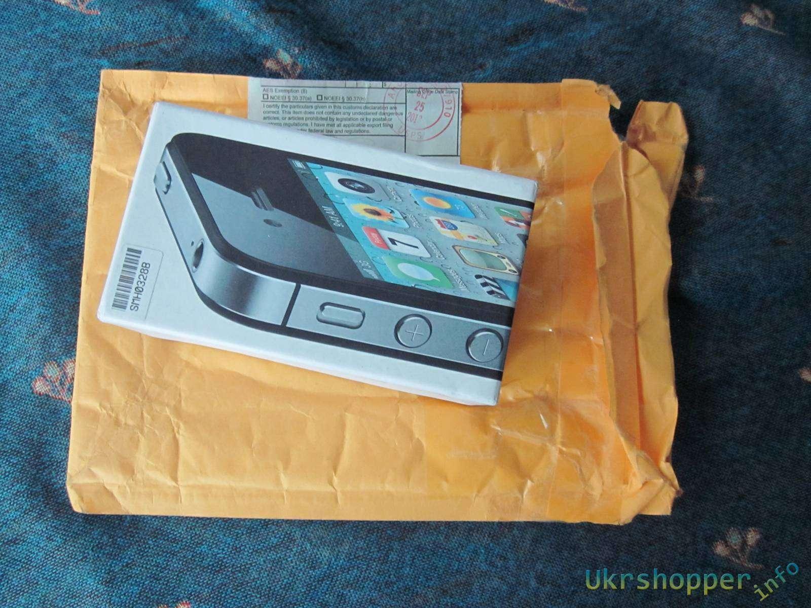 Другие: Дешевый телефон звонилка с закосом под Iphone 3.2 inch тачскрин