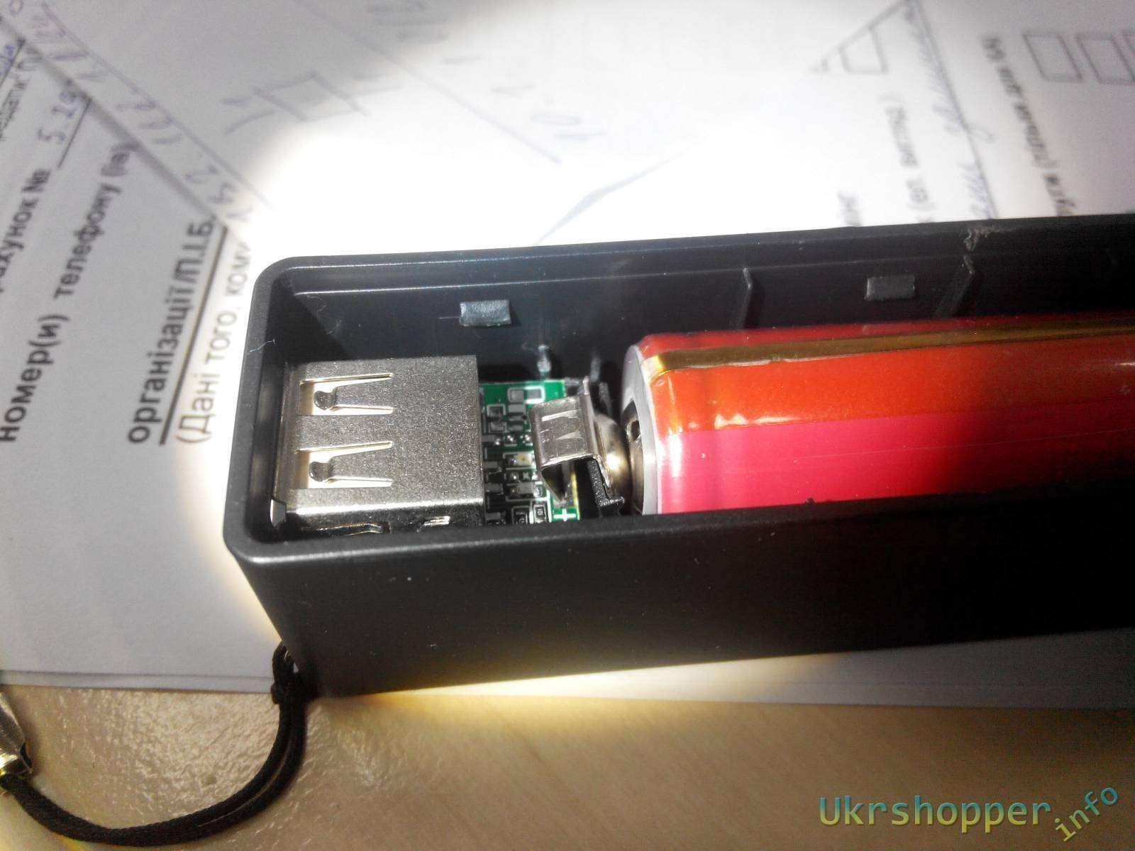 BuyinCoins: Знаменитый корпус Powerbank на одном аккумуляторе 18650 и простой способ сборки.