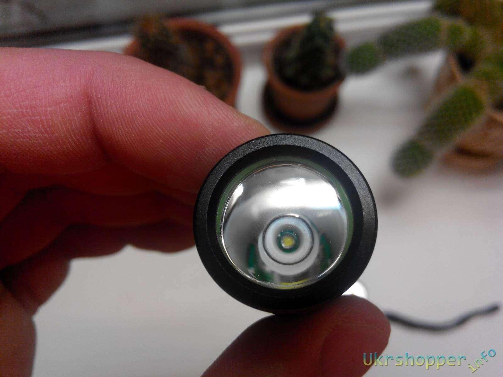 BuyinCoins: Хороший фонарь за недорого UltraFire 600lumen 18650 S6 Cree Q5