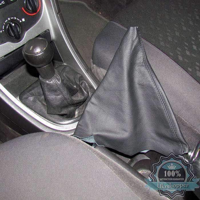 Ebay: Обзор кожаного чехла на ручки коробки передач для Peugeot