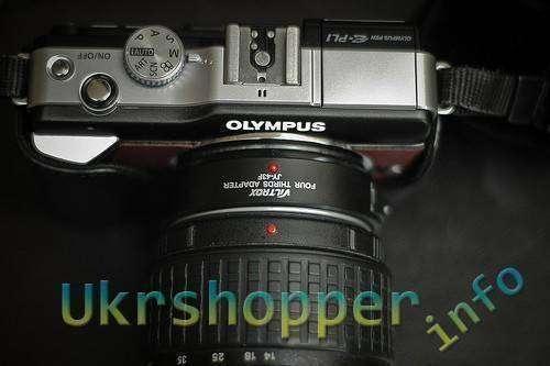 Aliexpress: Адаптер с подтверждением автофокуса для фотокамер micro 4/3 для установки объективов стандарта 4/3