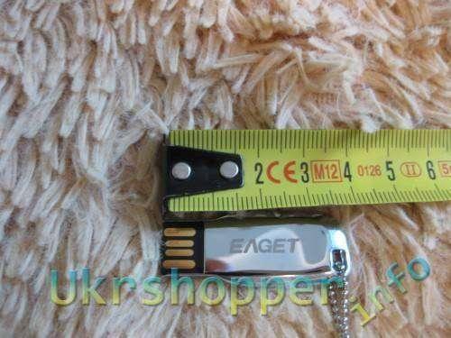 TinyDeal: Обзор и тест драйв неплохой, защищенной флешки (EAGET) T3 16GB
