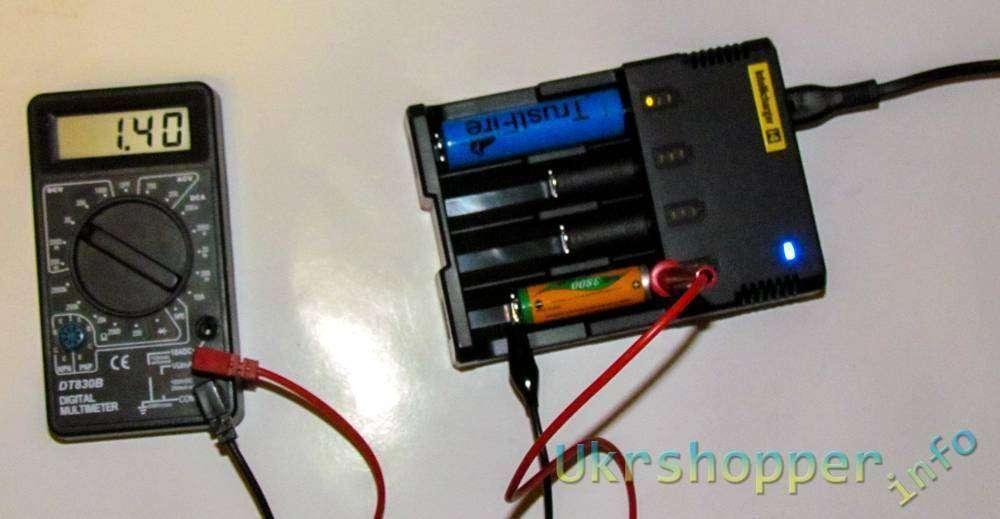 GearBest: Универсальное зарядное устройство для аккумуляторов от Ni-Cd AAA до Li-On 18650 Intellicharge Sysmax I4