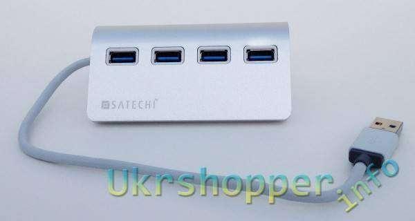 Ebay: Обзор 4х портового USB 3.0 хаба Satechi Premium Aluminum