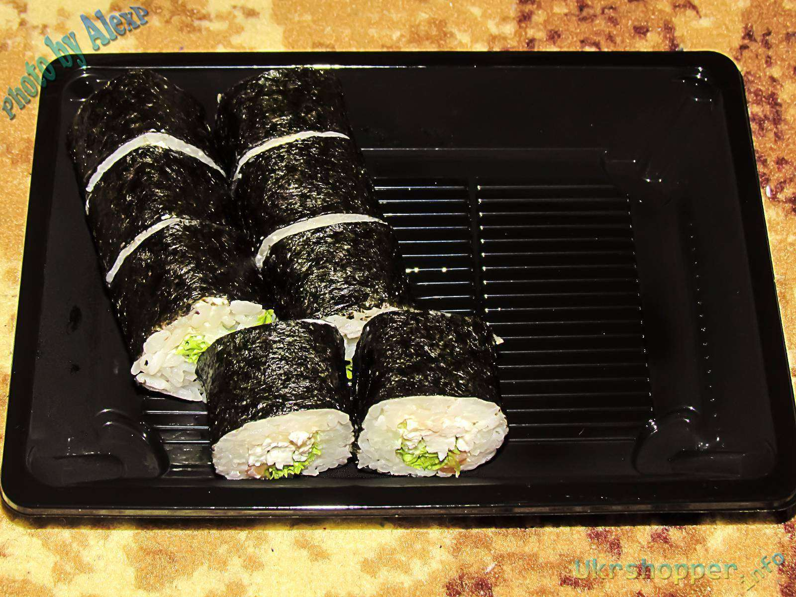 Суши 33/Пицца 33: Сет Big size от доставки суши Суши33 + пицца в подарок
