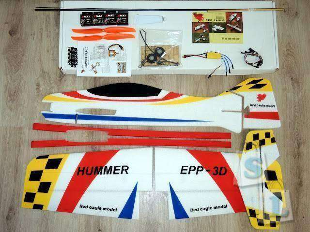 GearBest: Hummer EPP 3D - самолет для отдыха