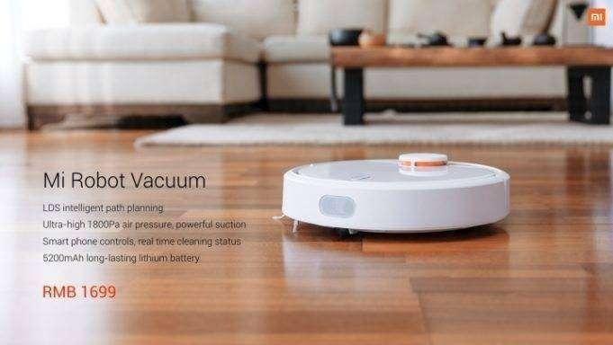 Shopper: Новинка от компании Xiaomi - робот-пылесос