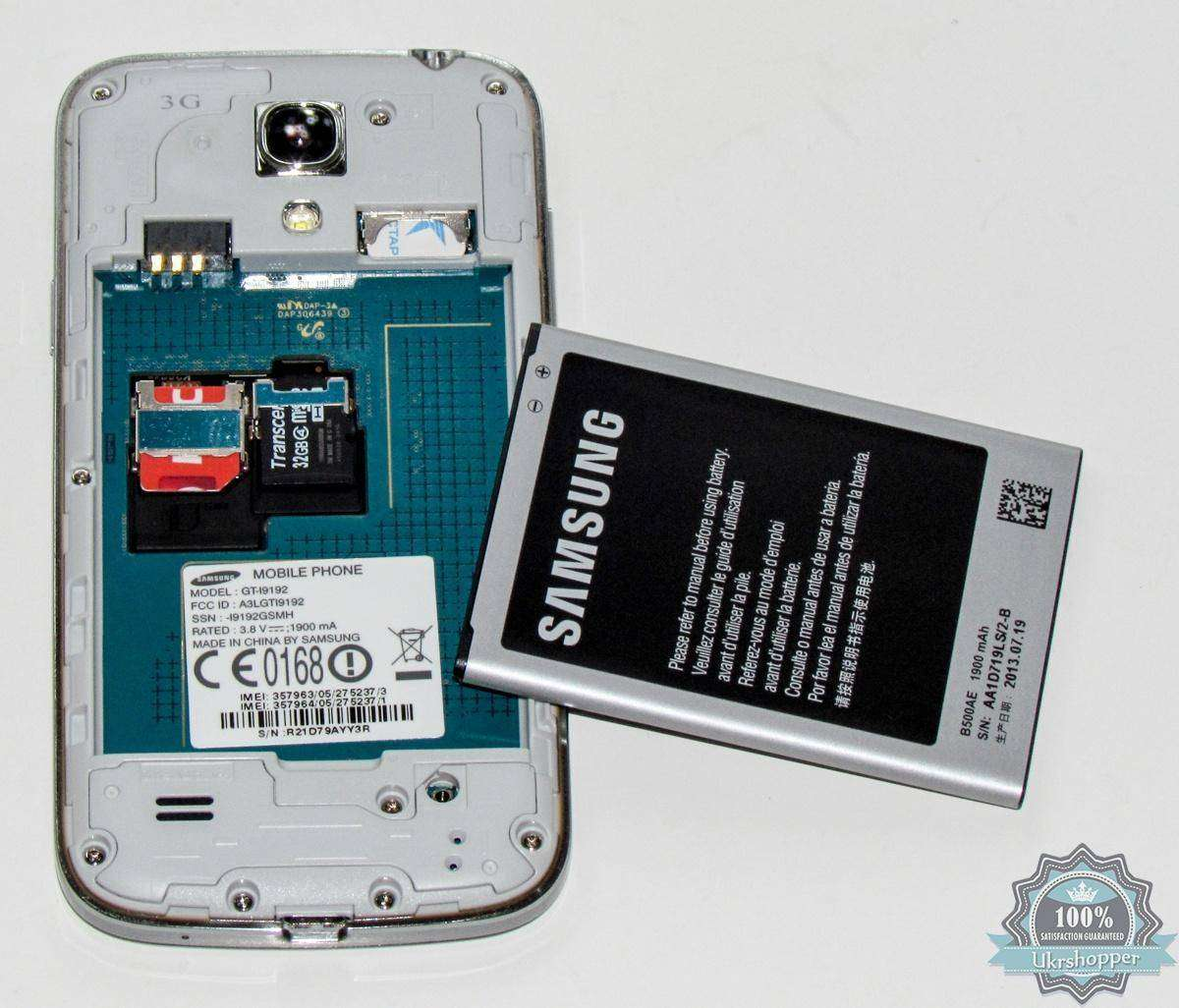 City.com: Обзор смартфона Samsung I9192 Galaxy S4 Mini Duos Black