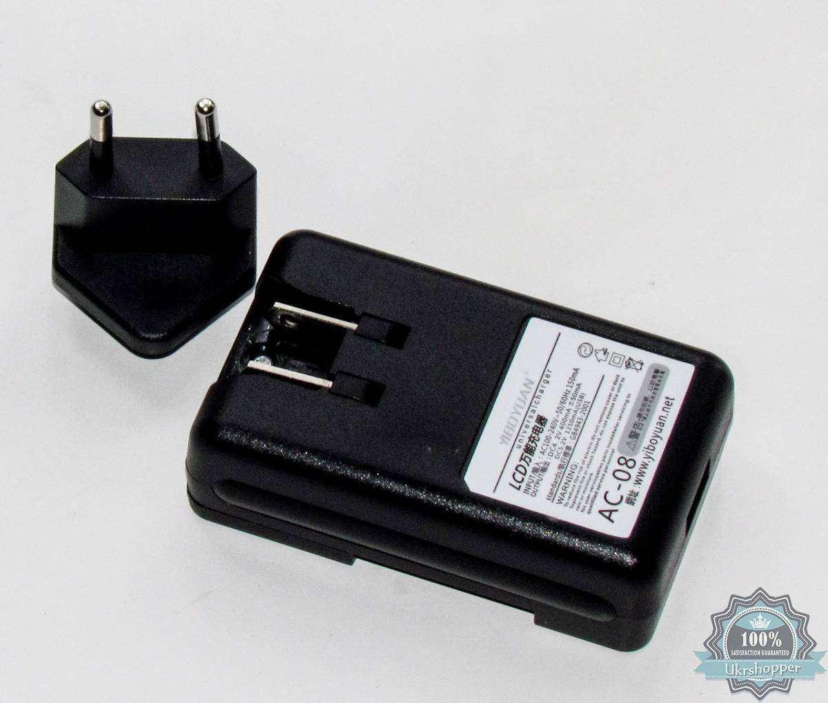 Ebay: Универсальная зарядка (жабка) для Li-On аккумуляторов 3,7 В