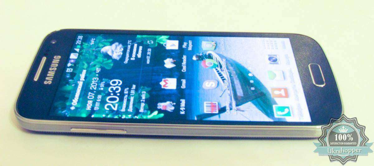 City.com: Обзор смартфона Samsung I9192 Galaxy S4 Mini Duos Black