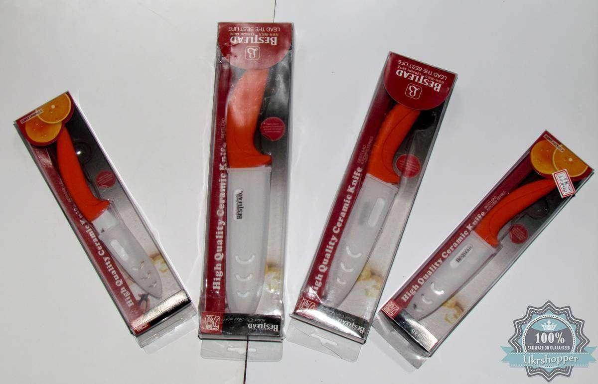 Aura Buy: Набор из 4х керамических ножей - 3,4,5 и 6 дюймов