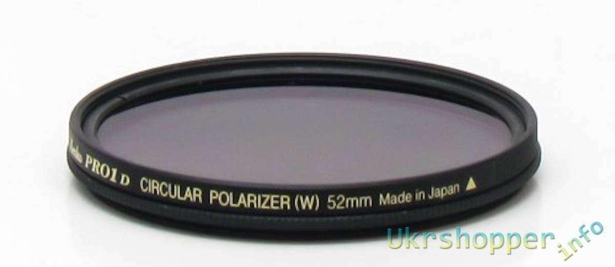 Aliexpress: Обзор поляризационного фильтра Kenko 52mm Pro1 Digital CPL