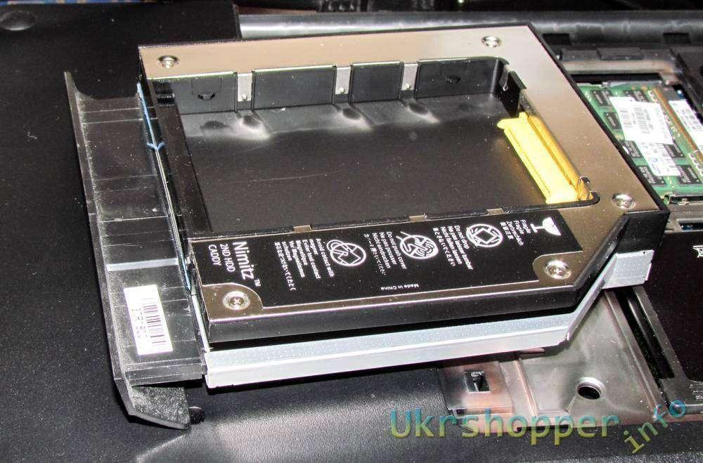 Ebay: Прокачай ноутбук, часть 1 - карман вместо DVD для жесткого диска