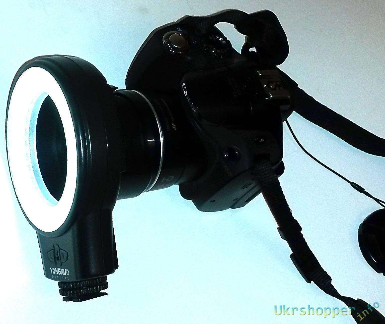 Aliexpress: Обзор кольцевого фото осветителя Yongnuo WJ-60