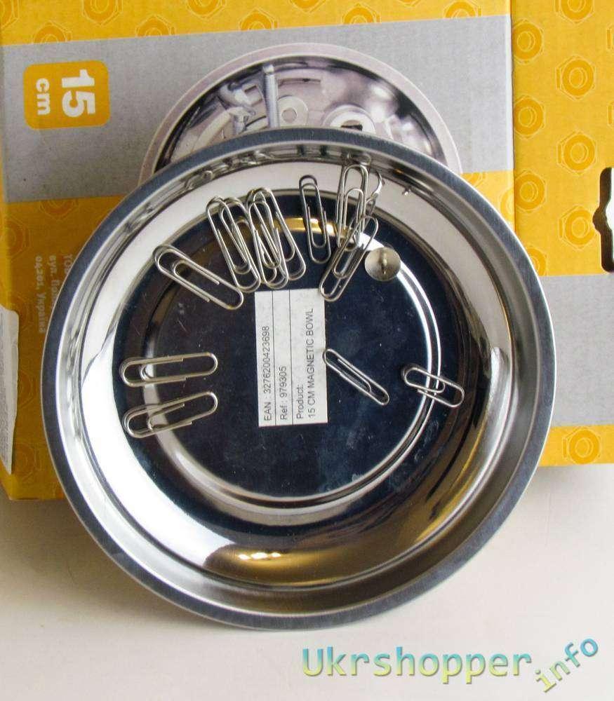 Leroy Merlin: Тарелка намагниченная, для мелких деталей, диаметр - 15 см