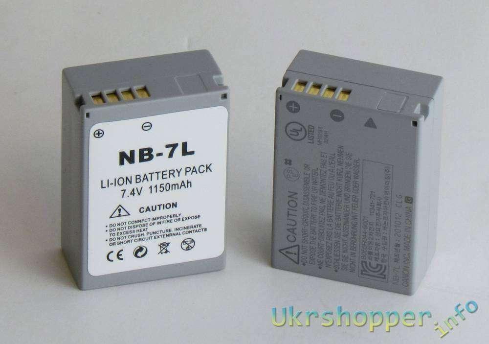 BuyinCoins: Еще один обзор китайского аккумулятора для фото - аналог Canon NB-7L
