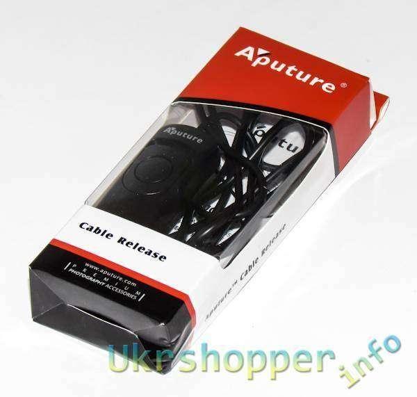 Banggood: Обзор спускового тросика для фотоаппаратов - Aputure AP-R1C
