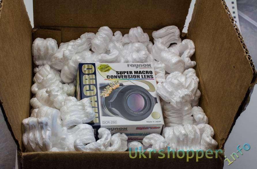 Ebay: Обзор макроадаптера Raynox DCR-250