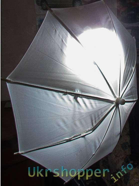 Aliexpress: Обзор компактного белого фотозонта для ровного и мягкого освещения