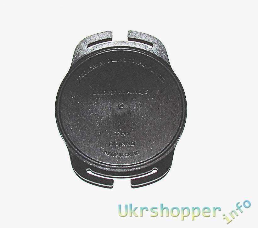 Aliexpress: Держатель для крышек объективов с креплением на ремень, д. 77мм