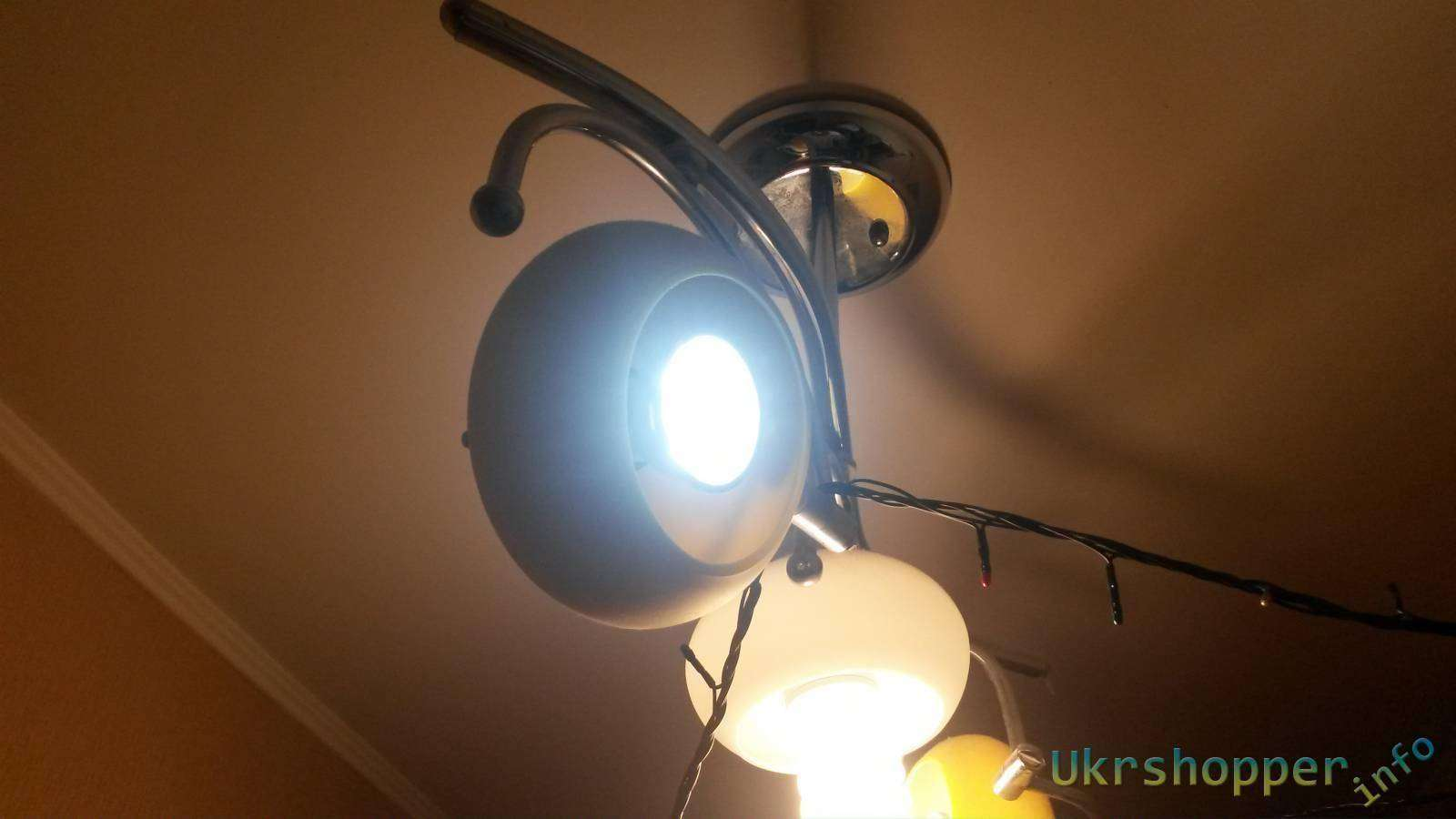 GearBest: Лампочка LED 230 lm E27 6500K 3W