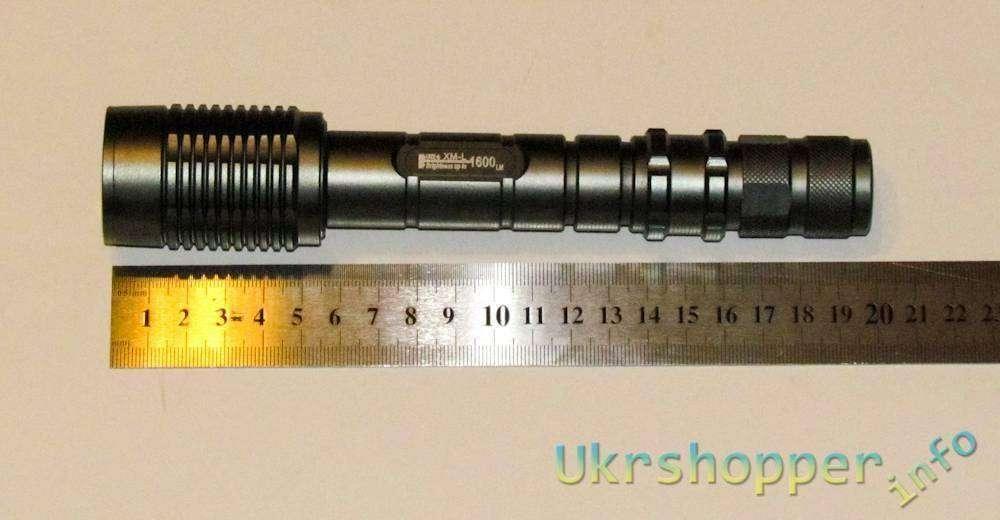 Aliexpress: Обзор фонарика UltraFire Z5 на 1600 люмен