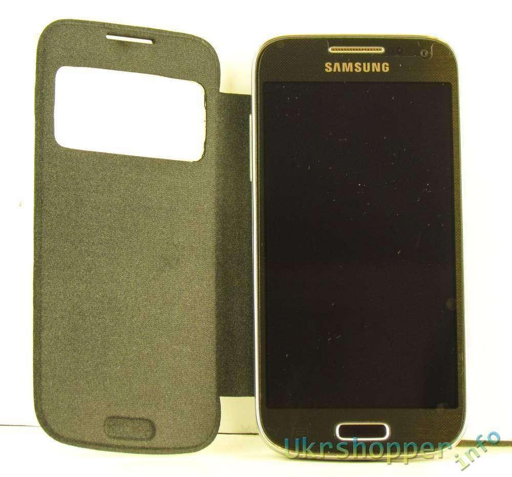 Ebay: Обзор действительно смарт чехла S view для Samsung Galaxy S4 mini