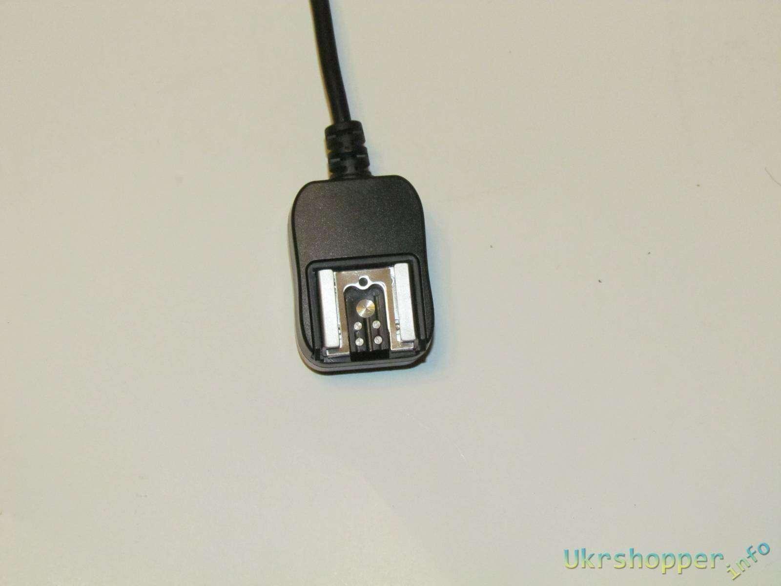 Banggood: 3 х метровый E-TTL кабель для подключения фотовспышки для систем Canon