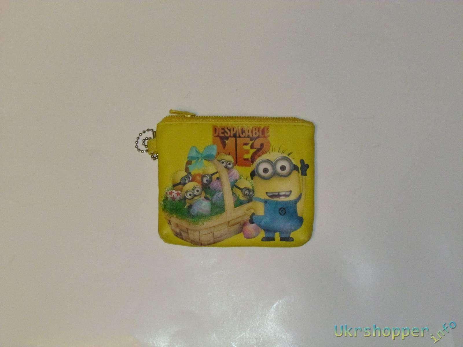 Aliexpress: Детский кошелек на тему минионов из мультфильма Гадкий Я
