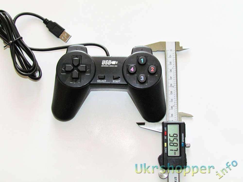 GearBest: Обзор простого игрового джойстика-геймпада