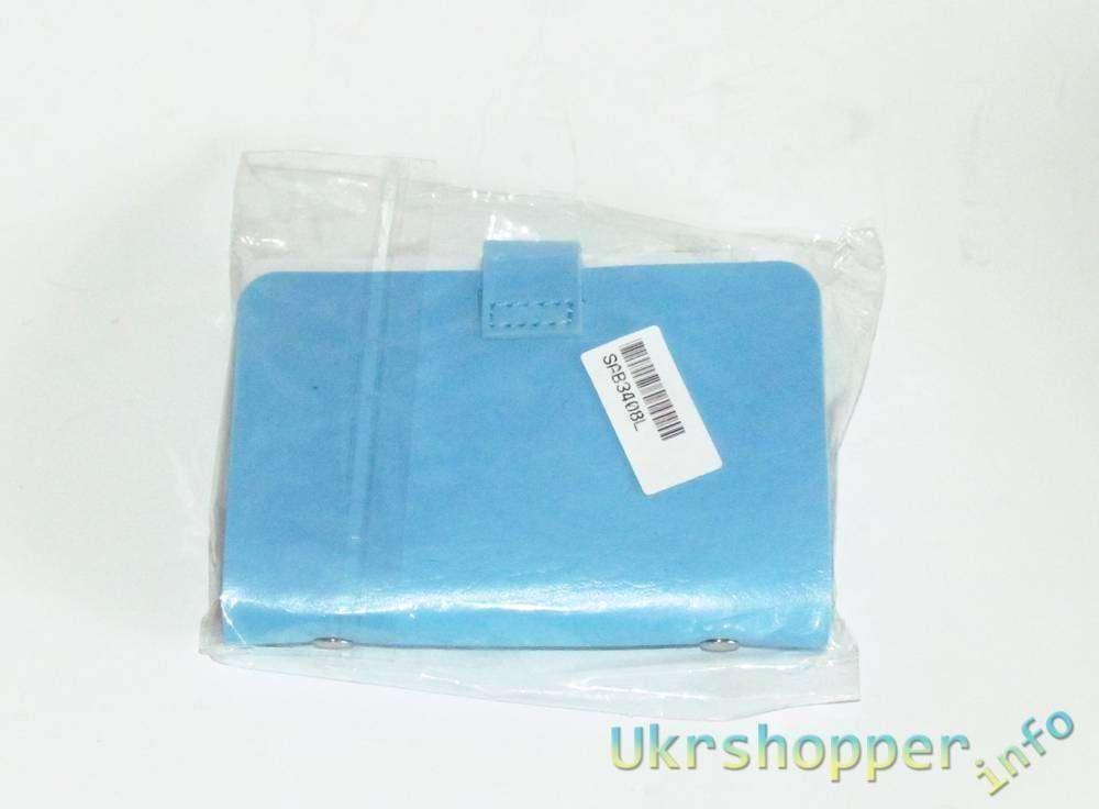 Aliexpress: Небольшой обзор сумки для банковских карт из кожи чебурашки