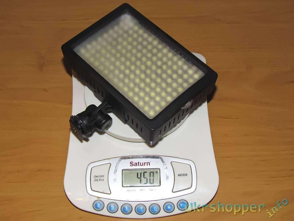 Tmart: Обзор отличного и недорогого фото- видео- LED осветителя HD-160