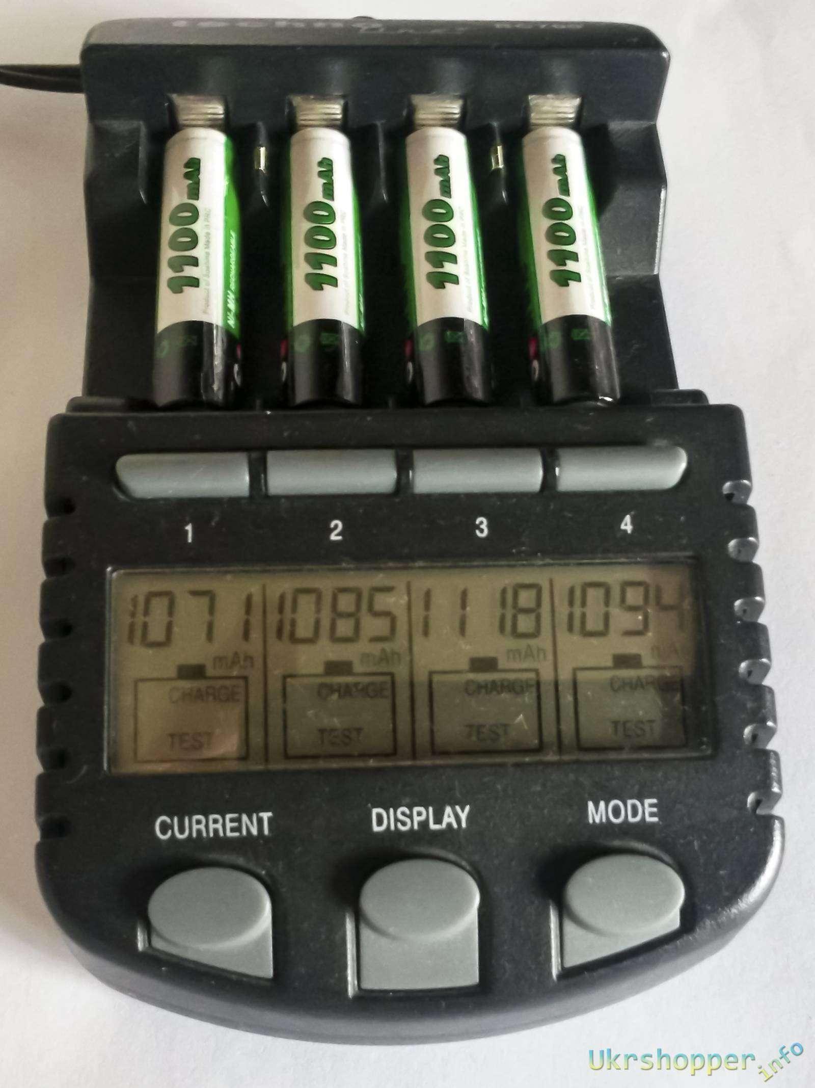 DealExtreme: Аккумуляторы Soshine AAA на 1100 мАч