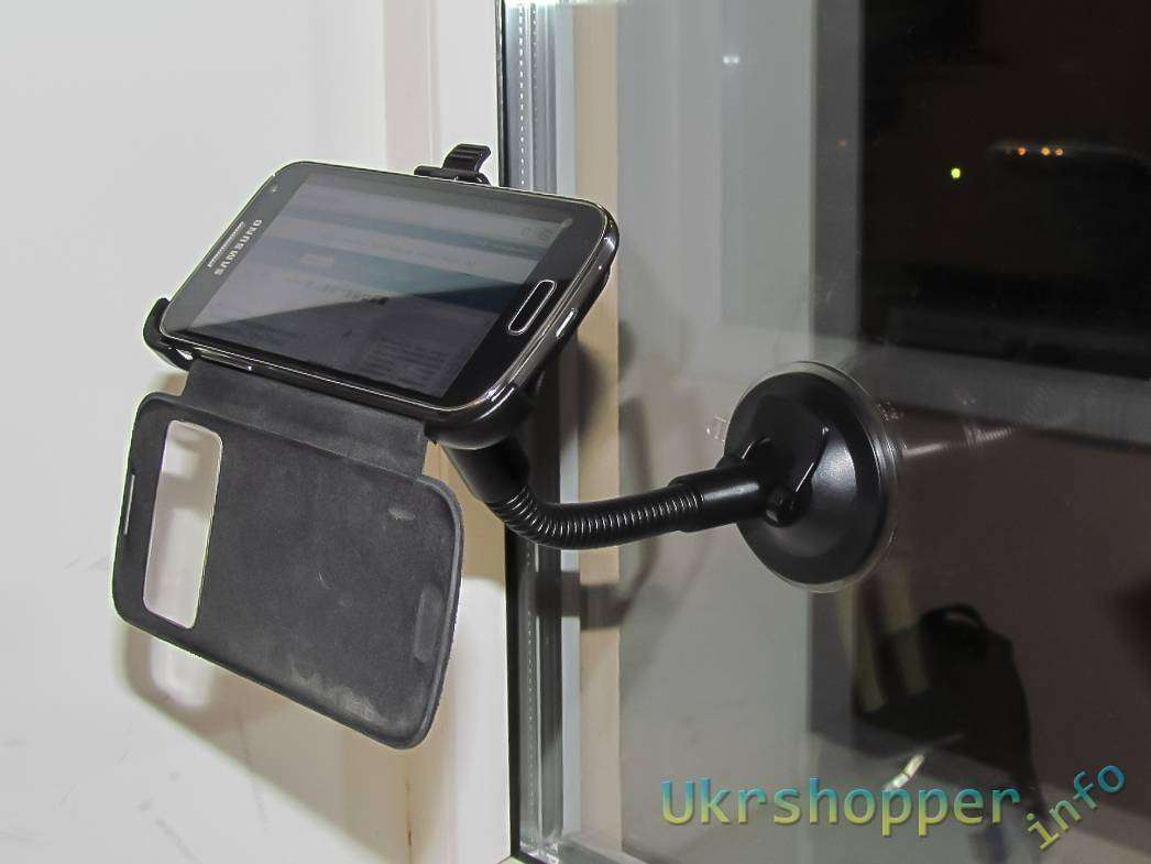 Tmart: Автомобильный держатель для Samsung Galaxy S4 mini i9192