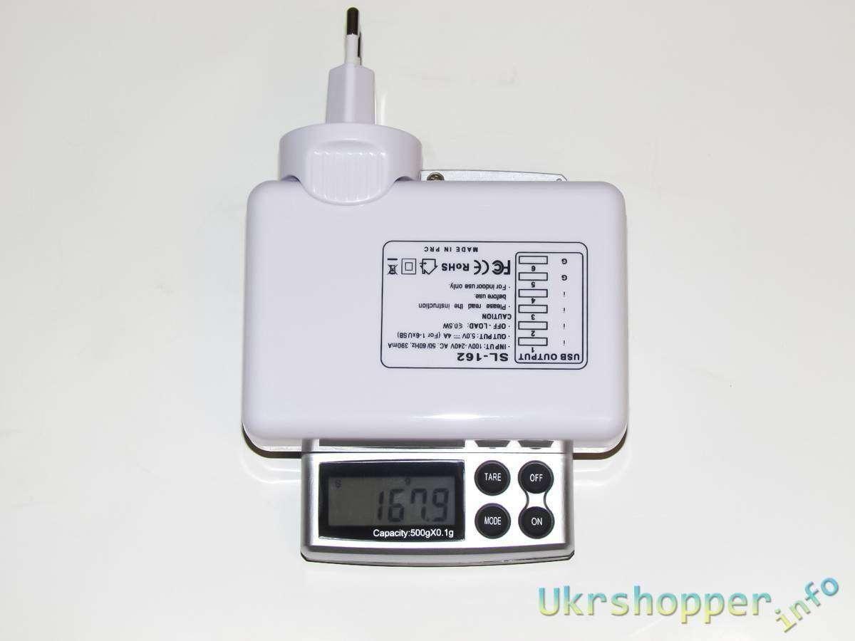 Tmart: 6 x USB портовое зарядное устройство - решение проблем с одновременной зарядкой гаджетов