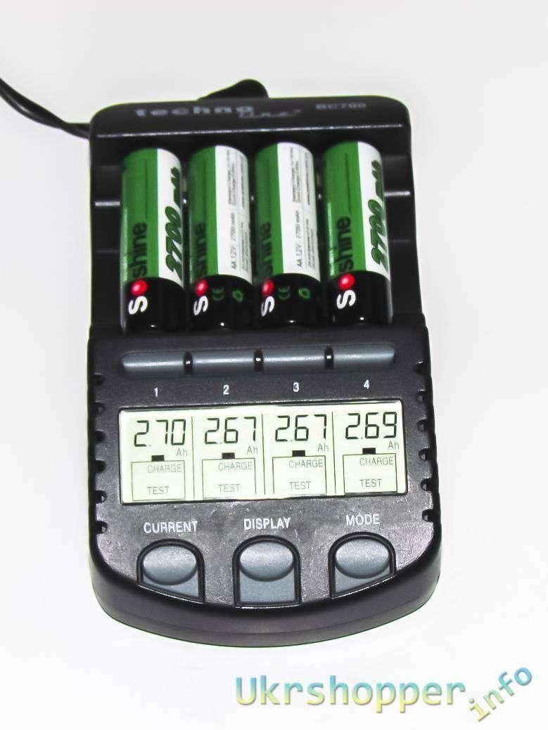 Tmart: Небольшой обзор и тест двух комплектов аккумуляторов АА