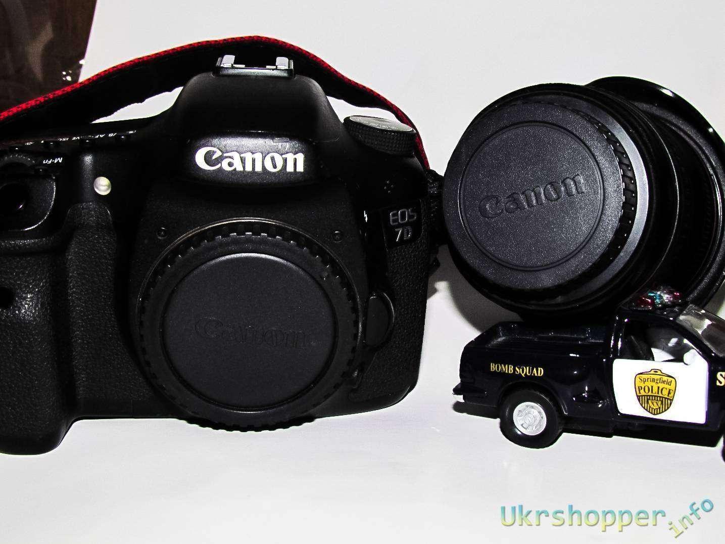 Tmart: Комплект крышек для Canon - Body + Rear Lens Cover