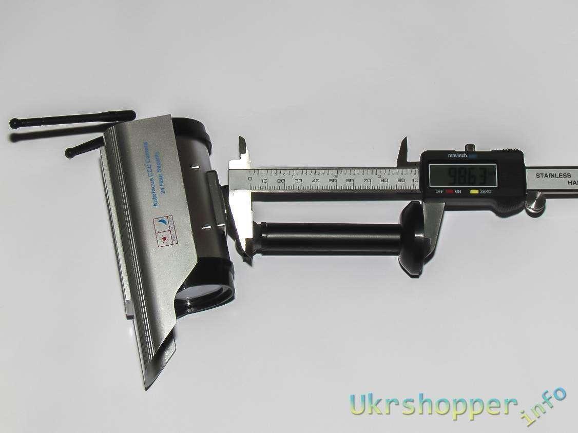 GearBest: Бутафорская камера видеонаблюдения, с солнечной батареей на двух элементах ААА