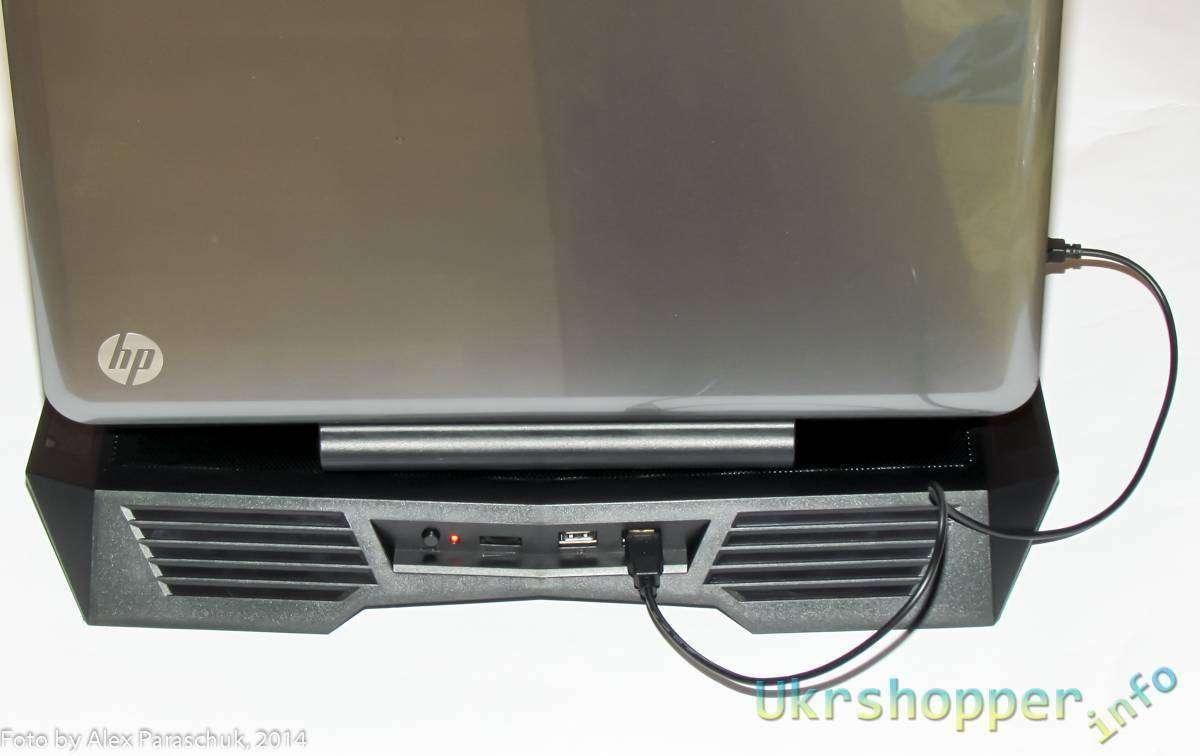Фотос: Прокачай ноутбук, часть 5 - Активное охлаждение ноутбука, обзор подставки для 17' ноутбуков ZALMAN ZM-NC11 Black