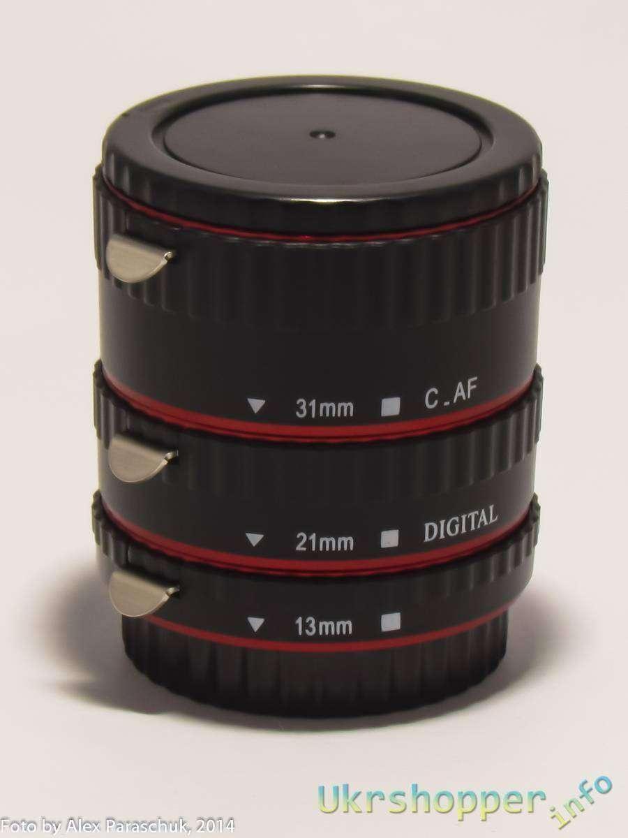 Aliexpress: Обзор набора для макрофото. Макрокольца с поддержкой автофокуса, для Canon