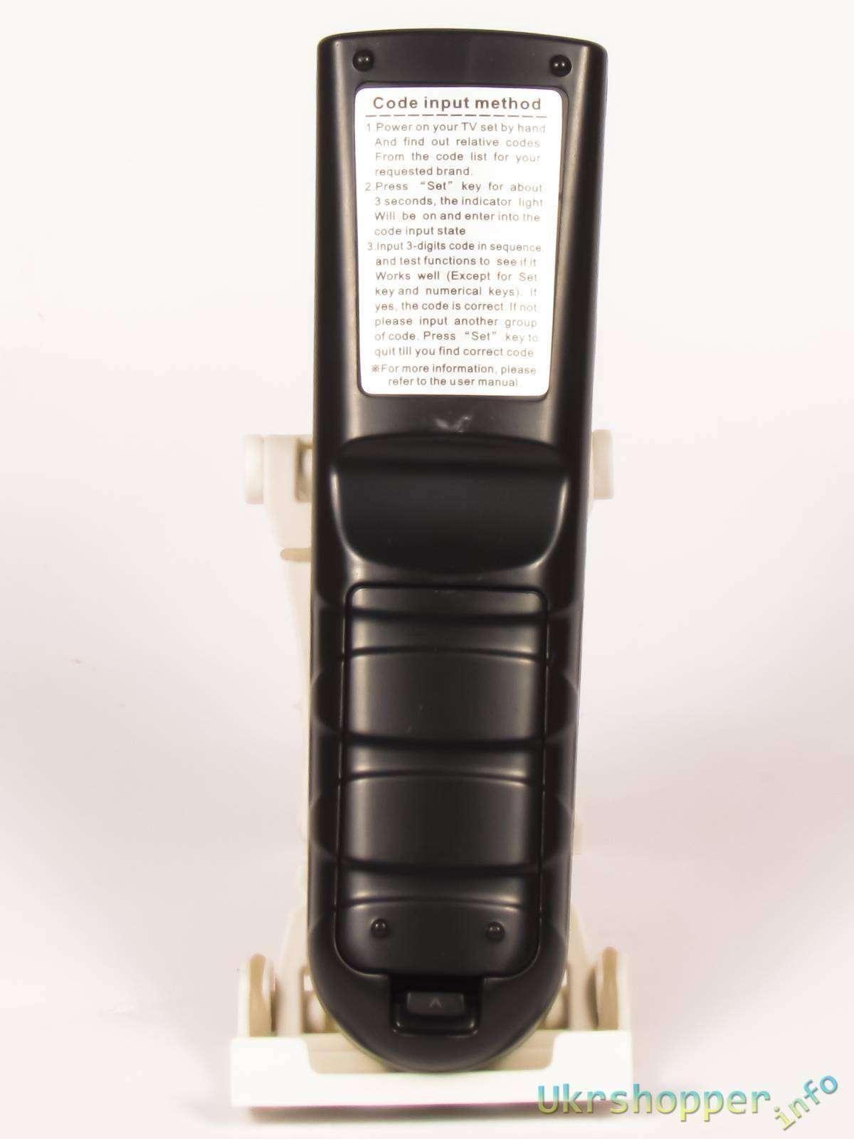 Banggood: Универсальный пульт ДУ Chunghop RM-139EX для телевизоров