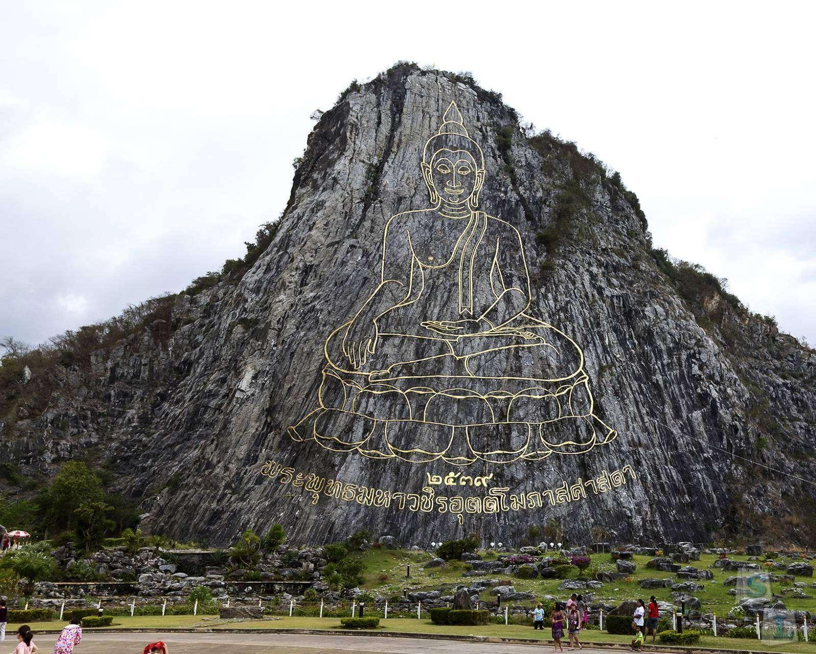 Другие: Тайский дневник. Паттайя. Золотая гора, храмовый комплекс Ват Ян, деревня длинношеих