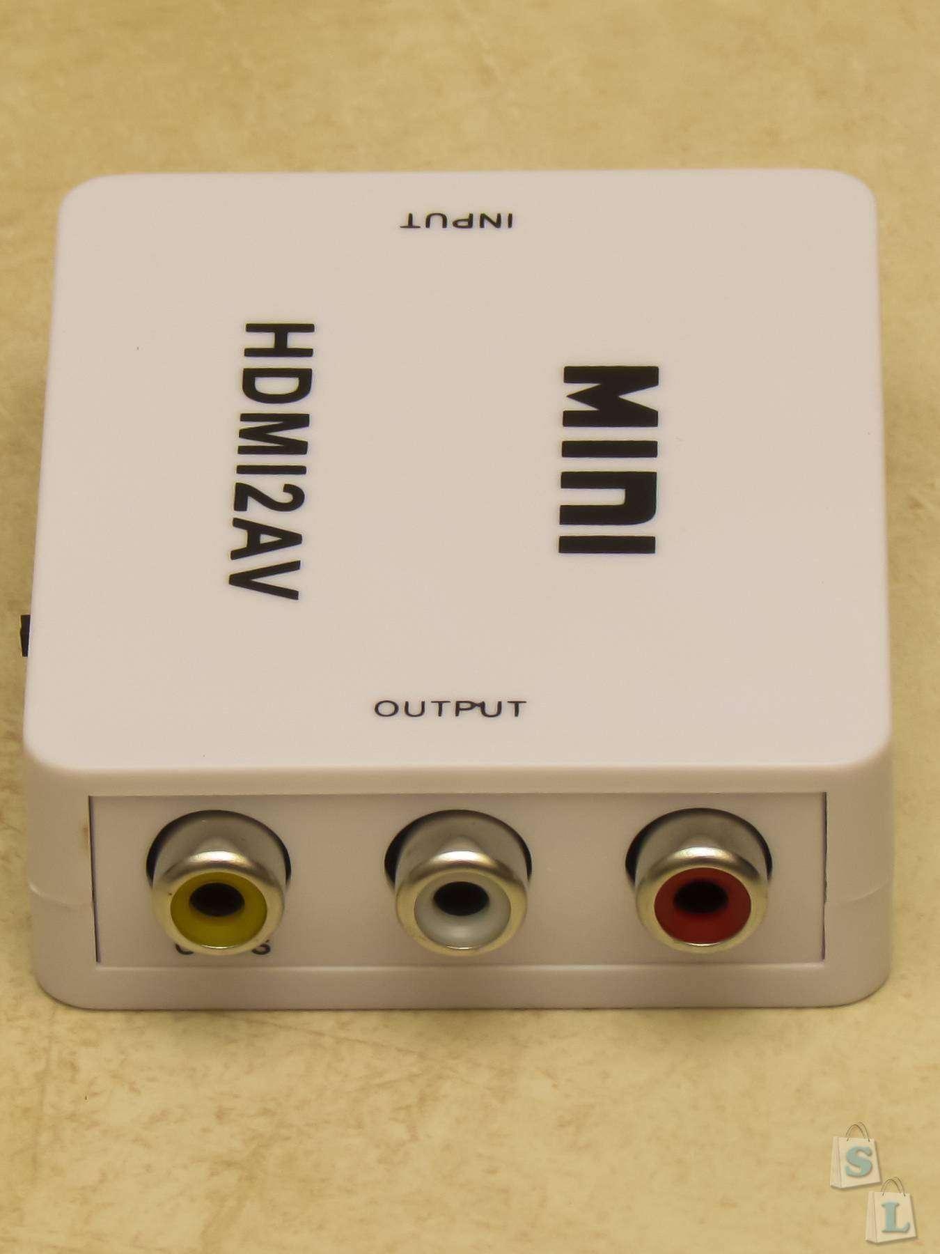 TinyDeal: Обзор HDMI to AV Video конвертера