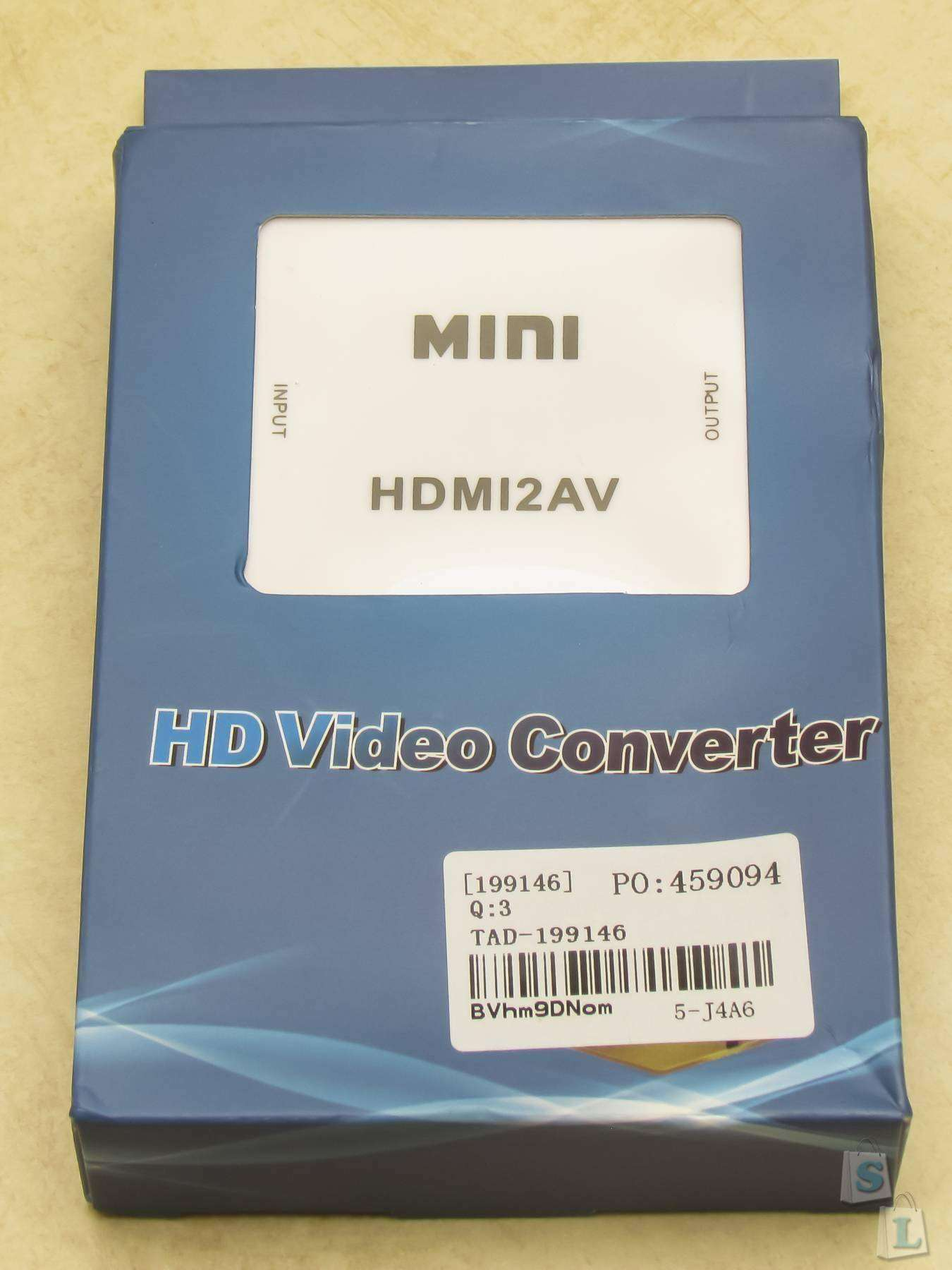 TinyDeal: Обзор HDMI to AV Video конвертера