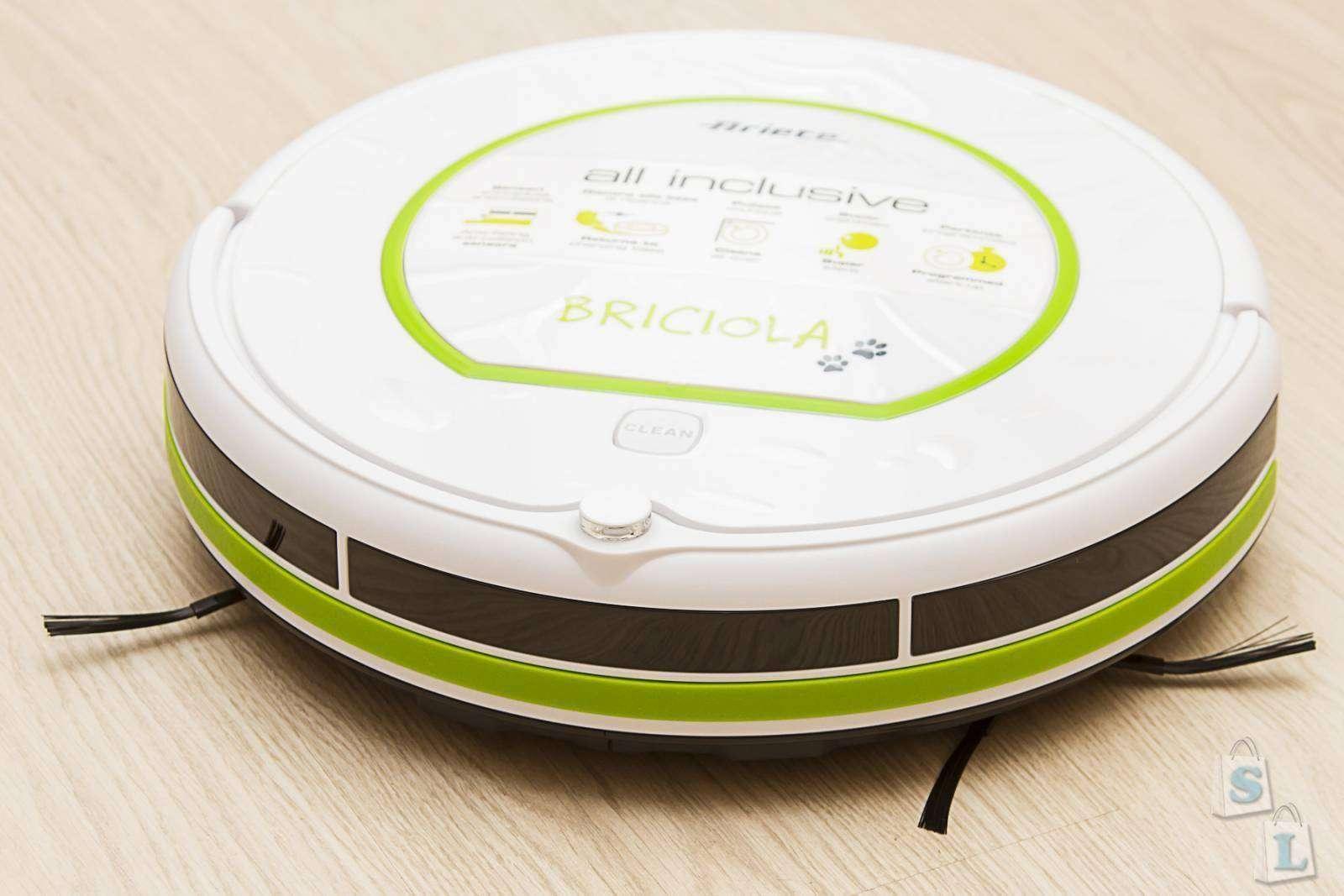 Розетка: Обзор робота пылесоса ARIETE BRICIOLA 2711