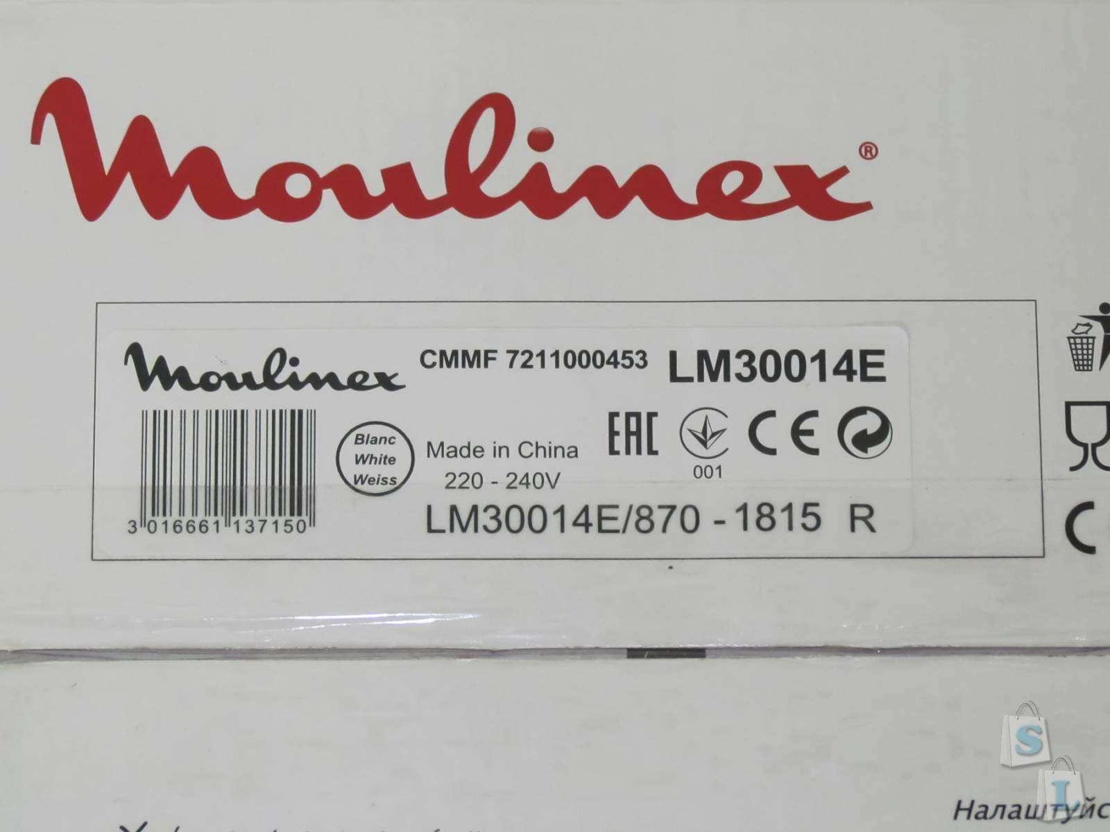 Дешевше нет: Обзор блендера Блендер Moulinex LM30014E