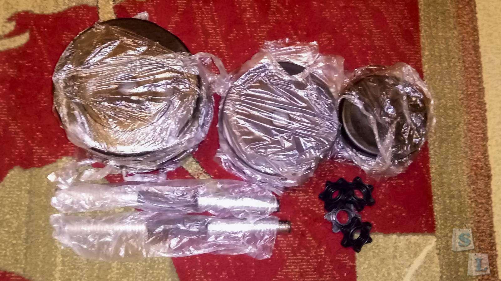 Другие - Украина: Гантели наборные - 2х18 кг