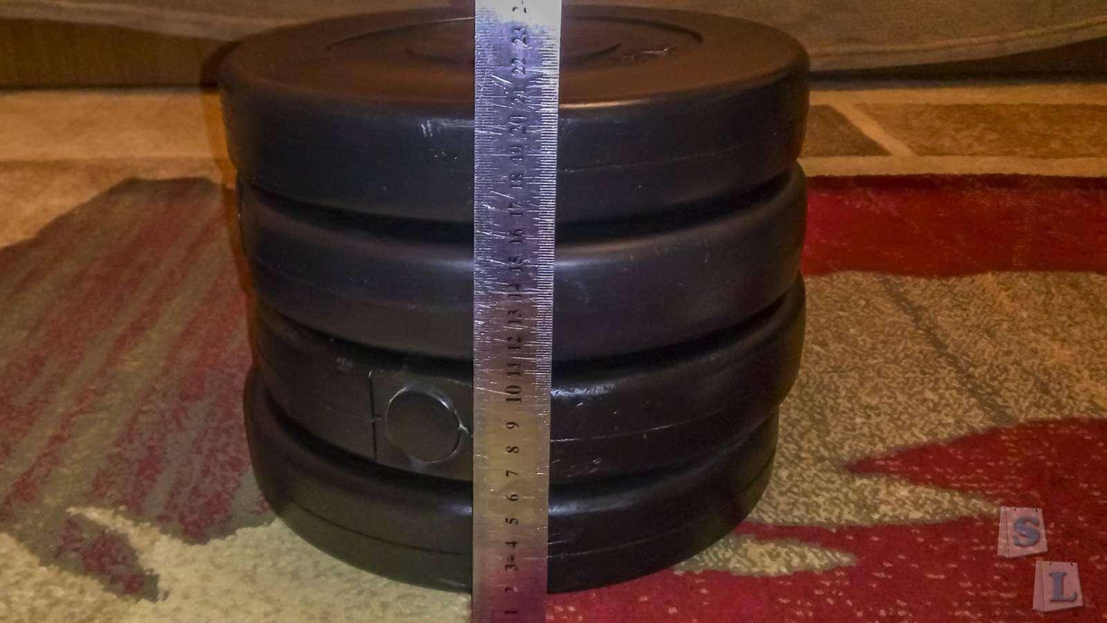 Другие - Украина: Набор блинов для гантелей 8 шт по 2,5 кг