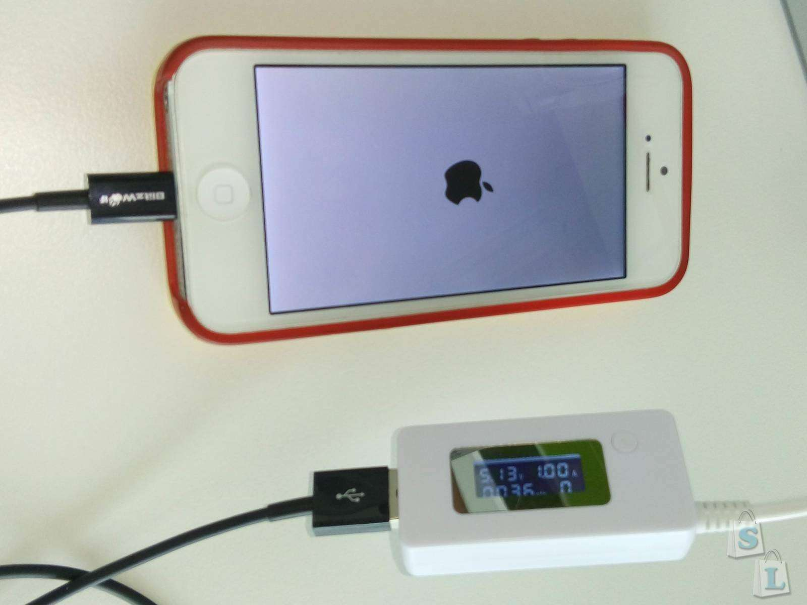 Banggood: Кабель BlitzWolf  USB - Lighting, для Iphone 5-6