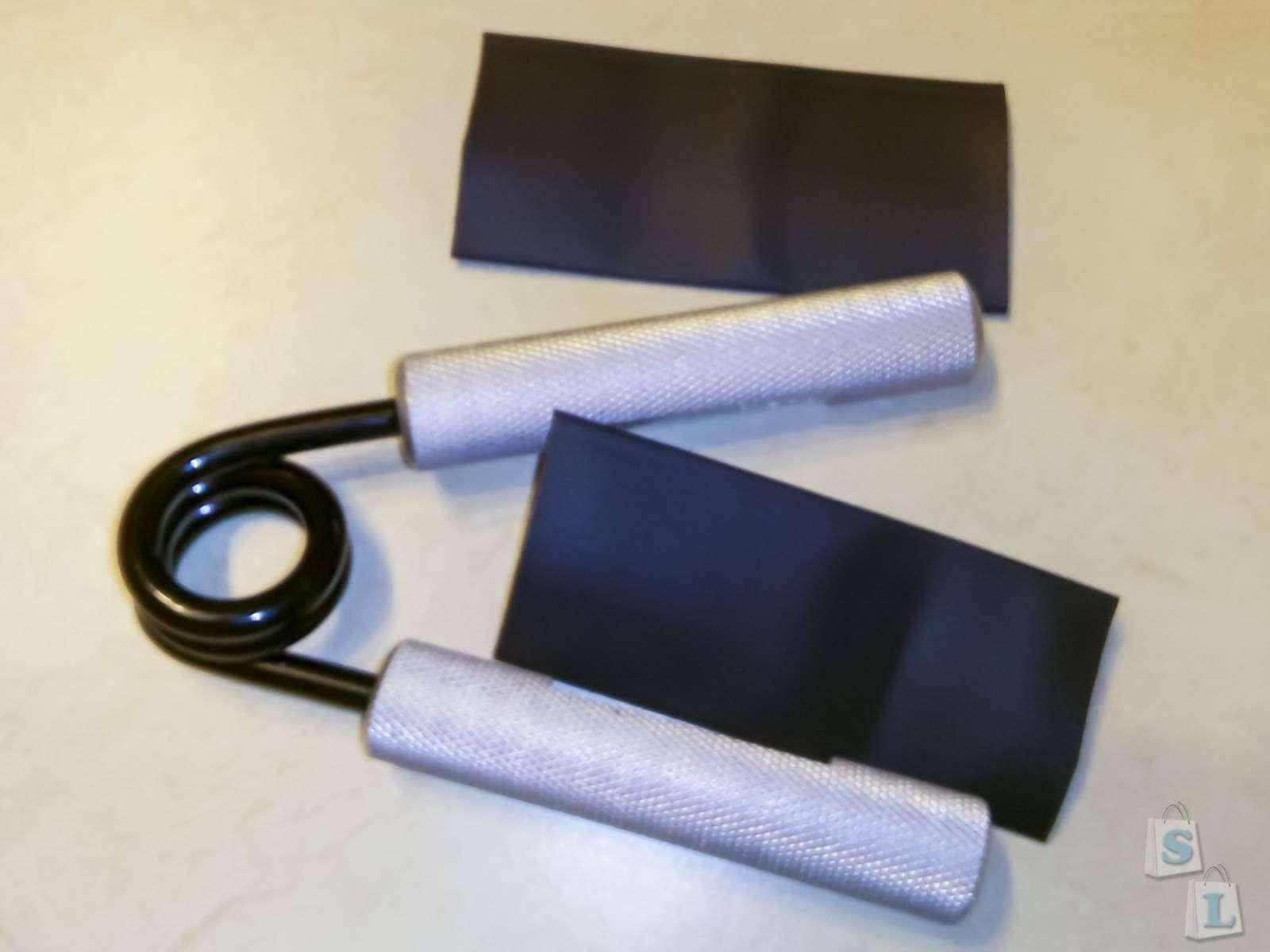Aliexpress: Кистевой эспандер на 200 фунтов (90кг)